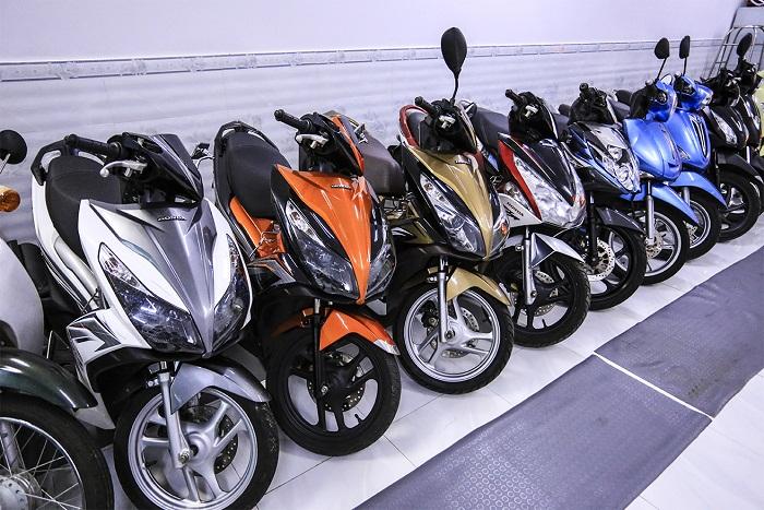 Công ty cho thuê xe máy tại Sài Gòn