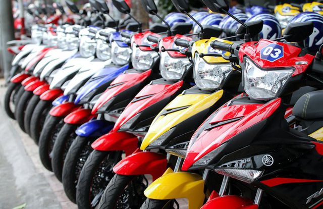 Thuê xe máy theo tháng giá rẻ tại Tp.HCM