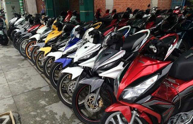Tìm nơi cho thuê xe máy