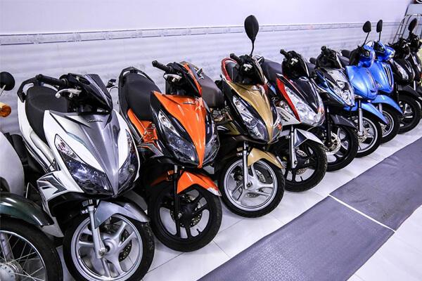 Địa chỉ cho thuê xe máy ở TPHCM