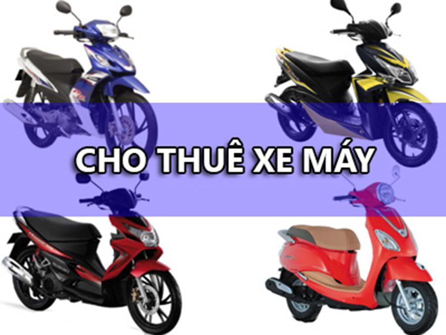 Cho thuê xe máy giá rẻ Thành Đạt