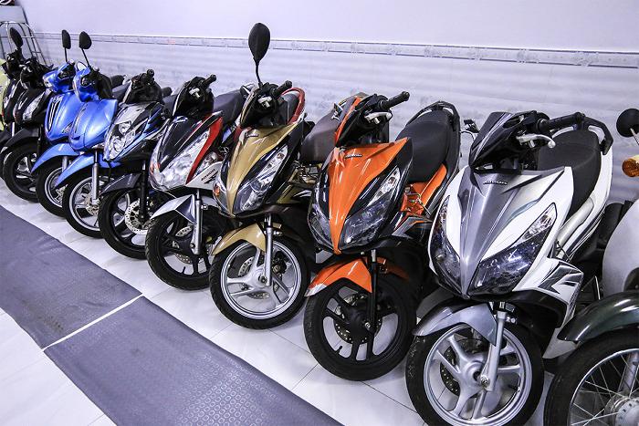 Cho thuê xe máy tphcm