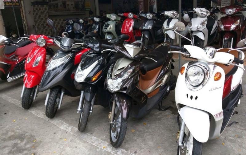 Thuê xe máy hcm