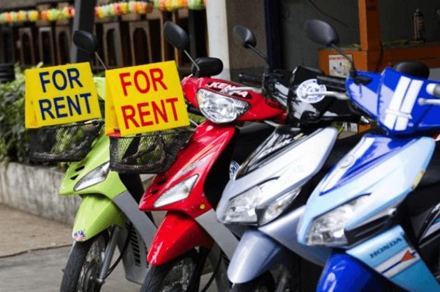 Địa chỉ thuê xe máy